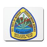 BIA Marijuana Recon Mousepad