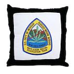 BIA Marijuana Recon Throw Pillow