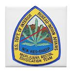 BIA Marijuana Recon Tile Coaster