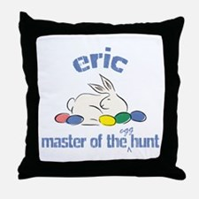 Easter Egg Hunt - Eric Throw Pillow