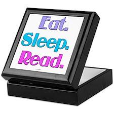 Eat. Sleep. Read. Keepsake Box