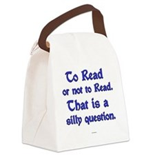 Silly Question Canvas Lunch Bag