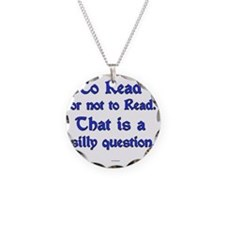 Silly Question Necklace