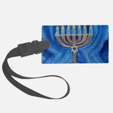 HANUKKAH MENORAH Luggage Tag