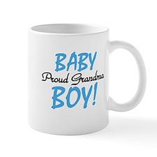 Baby Boy Proud Grandma Mug