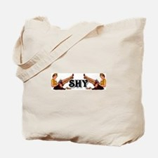 '40's Style Shy' Tote Bag