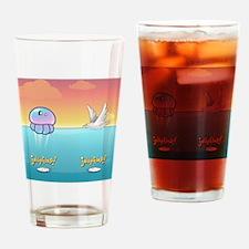 Jellyflop! Flip flops Drinking Glass