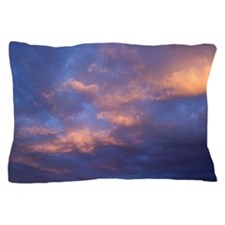 Colorful clouds Pillow Case