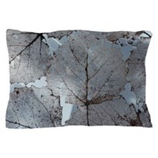 Group of filigree lace structured leav Pillow Case
