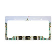 Winter Palace License Plate Holder