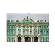 Winter Palace Rectangle Magnet