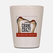 Crane Crazy Shot Glass