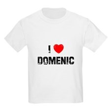 I * Domenic T-Shirt