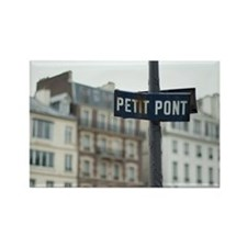 Le Petit Pont Rectangle Magnet