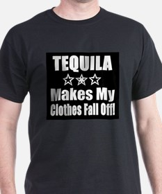 Tequila Makes My Clothes Fall T-Shirt
