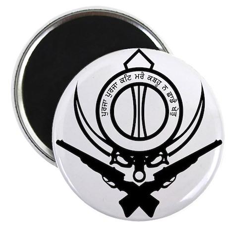 "Sikh Freedom Fighter 2.25"" Magnet (10 pack)"