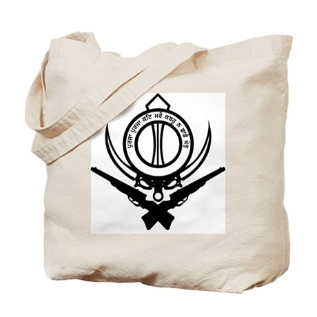 Sikh Freedom Fighter Tote Bag