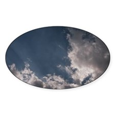 Sunburst Oval Decal