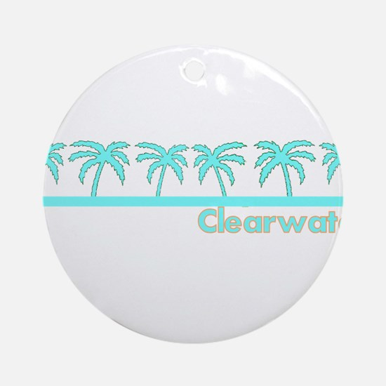 Clearwater, Florida Ornament (Round)