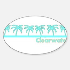Clearwater, Florida Oval Decal