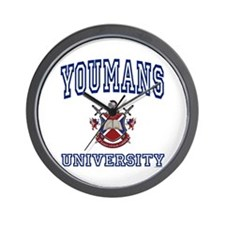 YOUMANS University Wall Clock