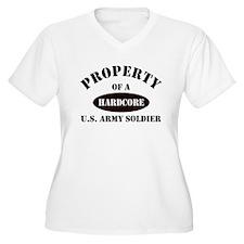 Property Hardcore US Army Sol T-Shirt
