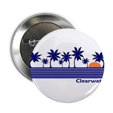 Clearwater, Florida Button