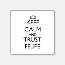 Keep Calm and TRUST Felipe Sticker