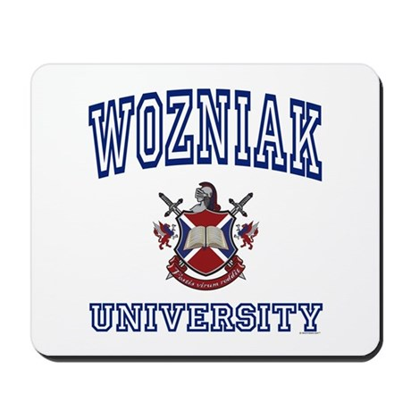 WOZNIAK University Mousepad