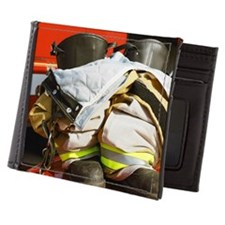 Fireman's boots and gators Mens Wallet