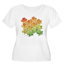 Celtic Leaf Tesselation T-Shirt