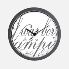 Vampire Edward Wall Clock