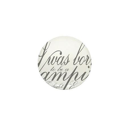 Vampire Edward Mini Button