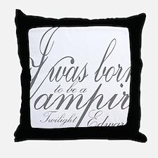 Vampire Edward Throw Pillow