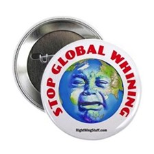 """Stop Global Whining - Warming 2.25"""" Button (10 pac"""