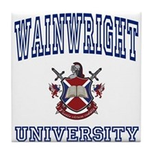 WAINWRIGHT University Tile Coaster