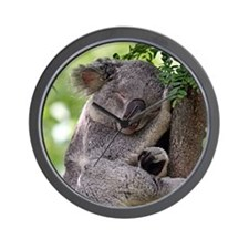 Koala dreams Wall Clock