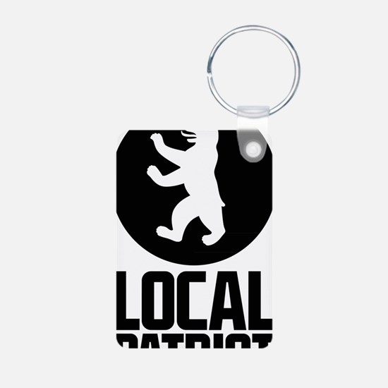 Local Patriot Bear Keychains