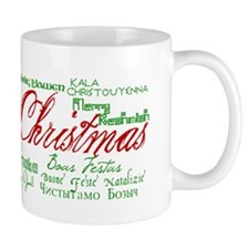 Merry Christmas language Mug