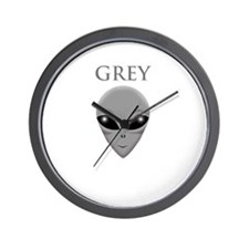 ONCE YOU GO GREY,YOU WILL NOT GO ASTRAY Wall Clock