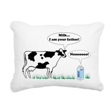 Milk…I am Your Father! Rectangular Canvas Pillow
