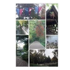 Naperville Riverwalk Postcards (Package of 8)