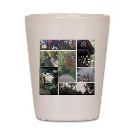 Naperville Riverwalk Shot Glass
