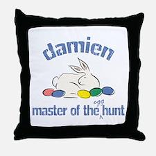 Easter Egg Hunt - Damien Throw Pillow