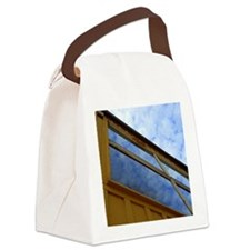 Cloudy Windows Canvas Lunch Bag