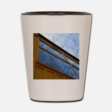 Cloudy Windows Shot Glass
