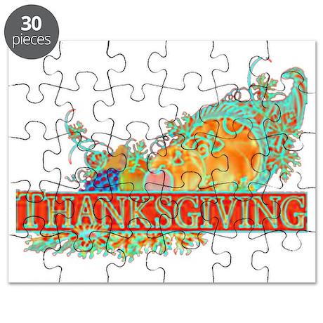 Thanksgiving Cornucopia Puzzle