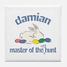 Easter Egg Hunt - Damian Tile Coaster