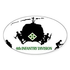 4th INFANTRY DIVISION Decal