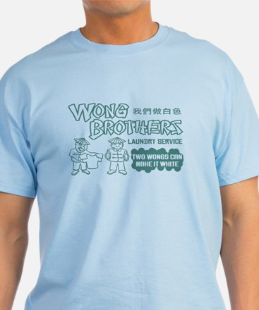 Wong Brothers Laundry Service T-Shirt